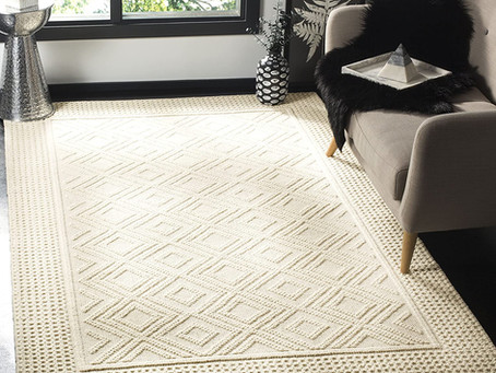 WOOL SOLID COLOR RUGS