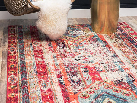 RED SOUTHWESTERN RUGS