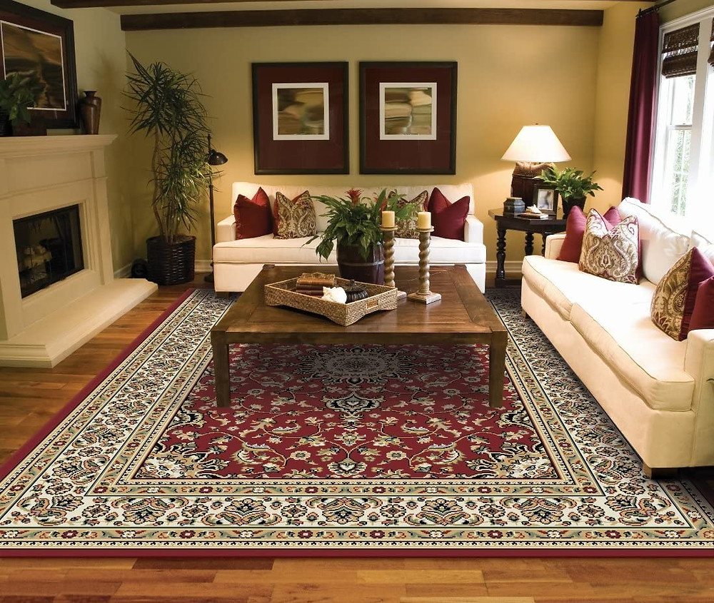 Living Room Rug Ideas On Hardwood Floors
