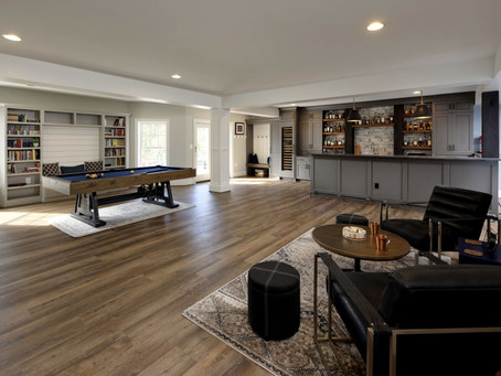 Ideas For Basement Remodel (awesome flooring options)