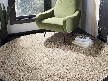 ROUND SOLID COLOR RUGS