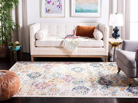 Living Room Rug Ideas On Hardwood Floors