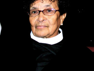 Funeral Announcement of Pastor Horatia J. Hayes