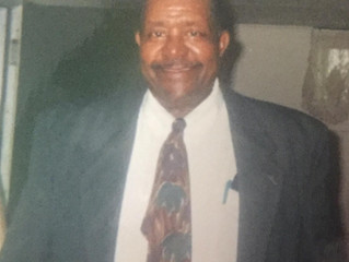 Funeral Announcement of Fred Whitaker