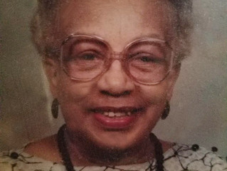Funeral Announcement of Bertha L. Williams