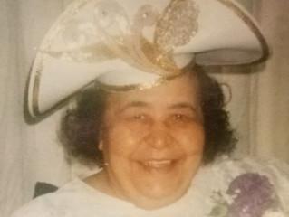 Funeral Announcement of Rev. Ruth Jones Sapp   (Age 92)