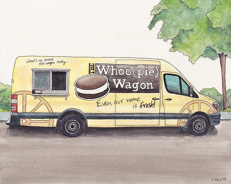 The Whoopie Wagon Giclée Print