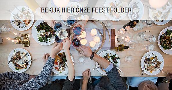 Feest, folder, wijn, geluk, eten, drinken, feestdagen, kerst, nieuwjaar, eindjaar, vuurwerk, genieten, familiefeest, familie, vrienden, samen zijn,