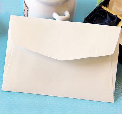 メッセージカード封筒