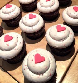 Toronto Valentine's Day Cupcakes