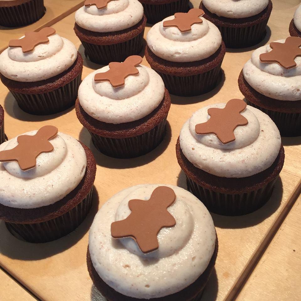 Gingerbread Cupcakes Toronto Deliver