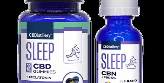 Sleep Starter Pack - Sleep Gummies & 1:3 CBN:CBD Sleep Tincture (150mg CBN