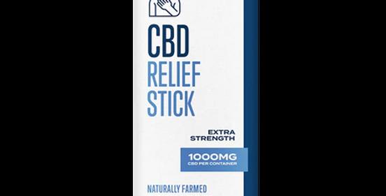 CBDistillery 1000mg Broad Spectrum CBD Relief Stick - 0% THC*