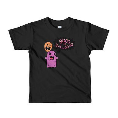 """BOOS 'N Balloons"" Short sleeve kids t-shirt"