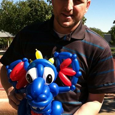 Dragon Party Balloon Sculpture