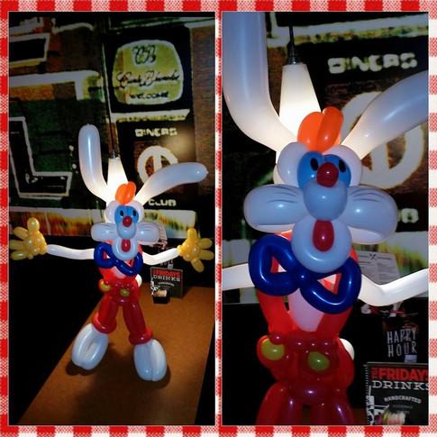 Roger Rabbit Party Balloon
