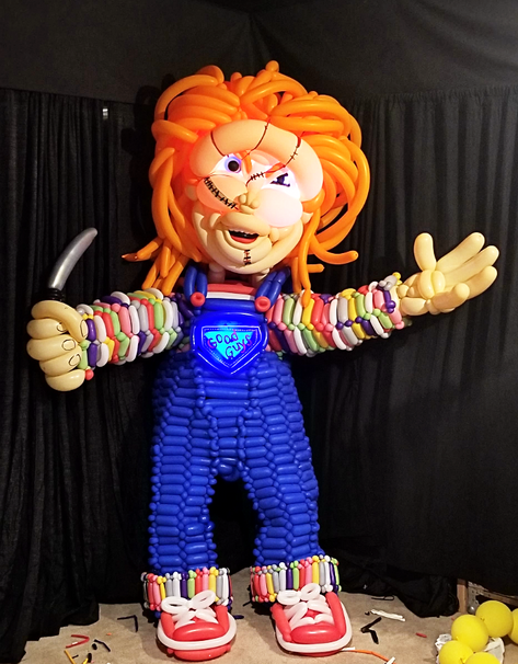 Chucky Balloon Costume