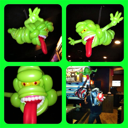 Ghostbusters Slimer Party Balloon
