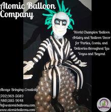 Beetlejuice Balloon Sculptures