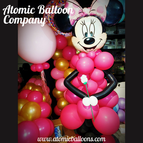Minnie Mouse Balloon Decor