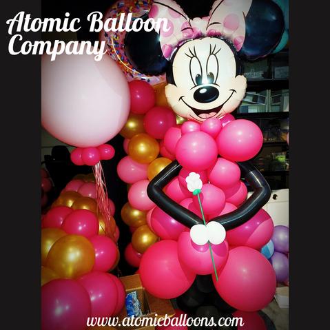 Minnie Mouse Balloon Decor