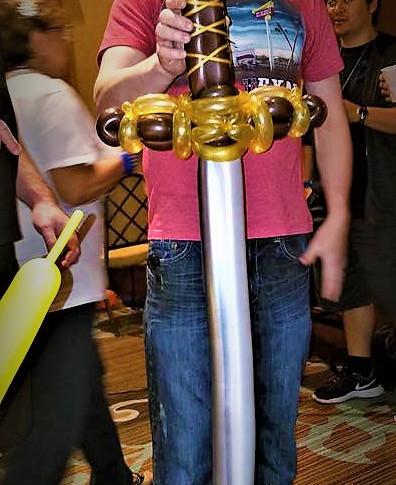 Sword Party Balloon