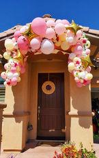 Birthday Balloon Garland Decor