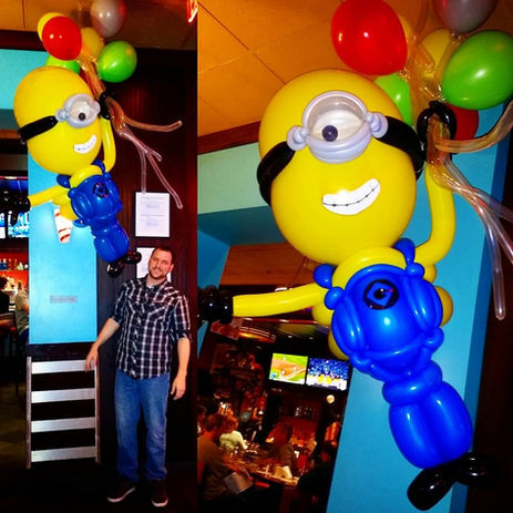 Minion Balloon Sculpture