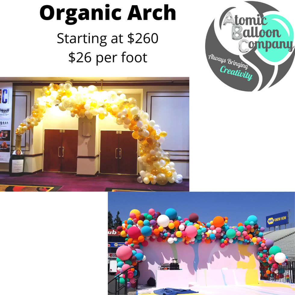 Organic Arch Pricing