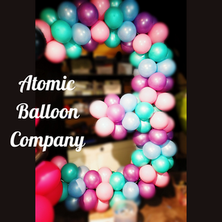 Large Number 3 Balloon Decor