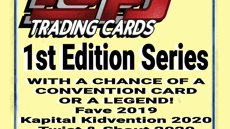 POPS Entertainer Trading Cards Mixed Pack