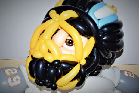 Large Las Vegas Golden Knights Balloon Sculpture