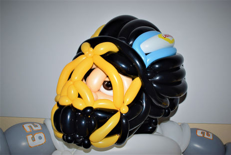 Vegas Golden Knights Balloon Sculpture