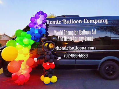Magical Disney Balloon Decor