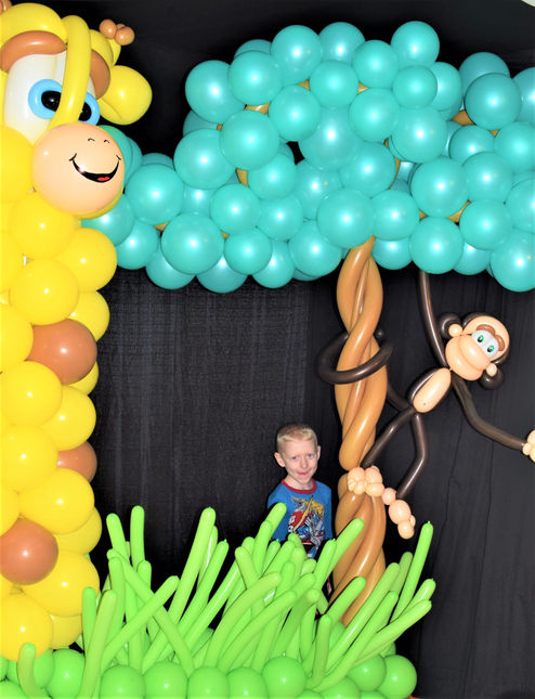 Jungle Balloon Photo Frame