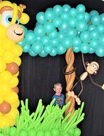 Jungle Balloon Photo Frame