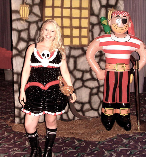 Pirate Balloon Dress Costume