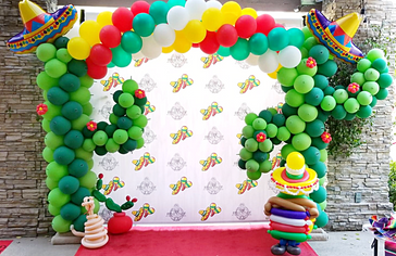 Fiesta Cactus Balloon Decor