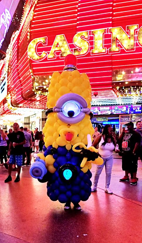 Minions Balloon Costume