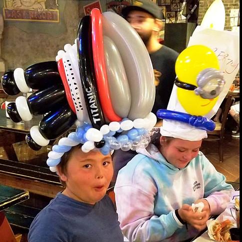 Titanic Party Balloon Hat