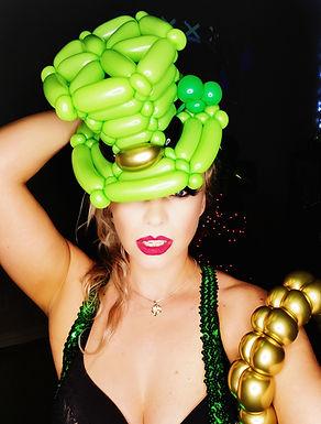St. Patrick's Day Balloon Hat
