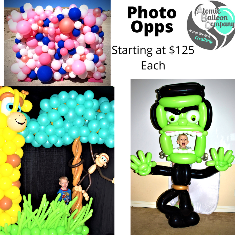 Photo Opp Pricing