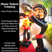 Mariachi Balloon Sculpture