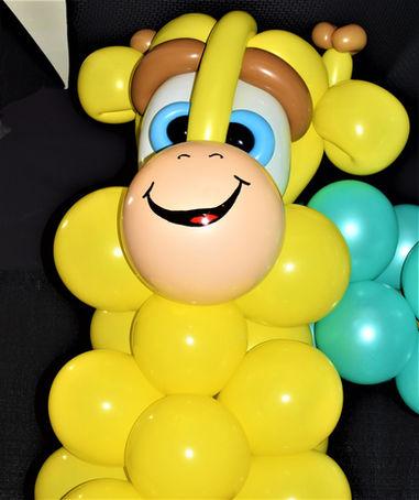 Giraffe Balloon Column