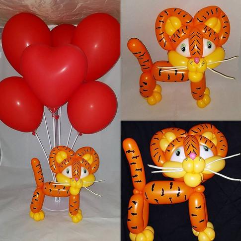 Cat Love Party Balloon