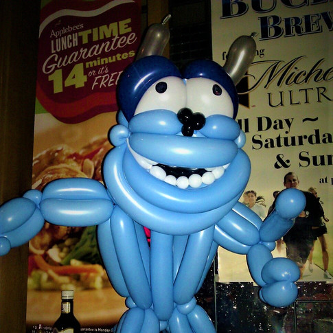 Monsters Inc Sully Party Balloon