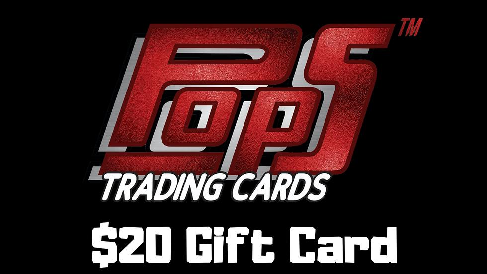 POPS $20 Gift Card