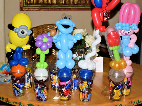 Customized Balloon Candy Cup