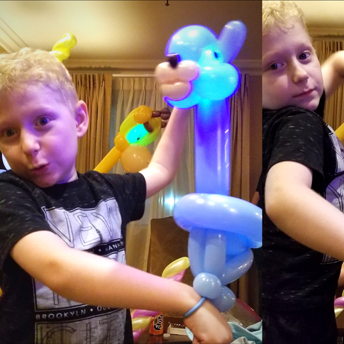 Light Up Llama Party Balloon