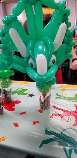 Dinosaur Balloon Party Favors